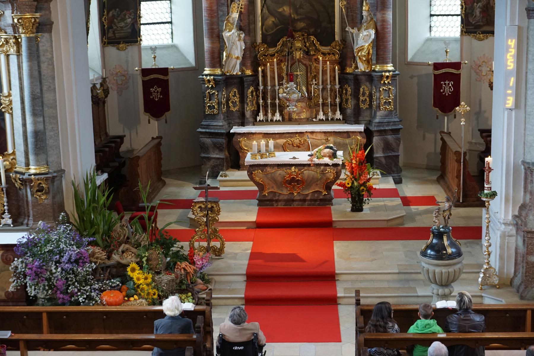 Erntedank Kirche